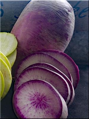 Purple Daikon Radish